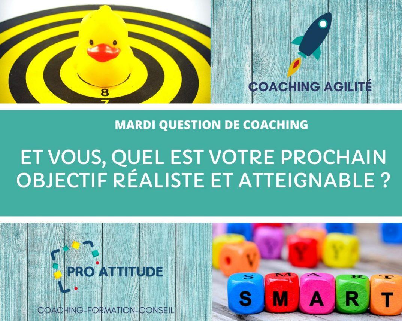 Coaching Agilité et objectifs